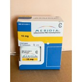 Meridia brand (Reductil,Sibutramine) 15 mg - packing 60 pills  R