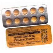 Generic Levitra (Vardenafil) 40 mg - Snovitra Strong