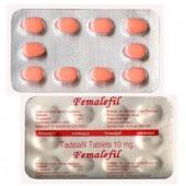 Tadalafil pour les femmes 10 mg