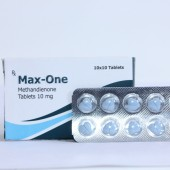 Max One (Methandienone) Stéroide 10mg