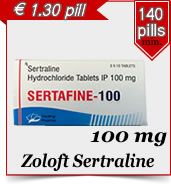 Zoloft Sertraline 100 mg