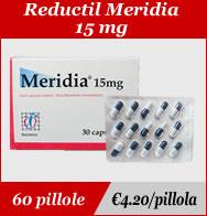 Reductil Meridia 15mg